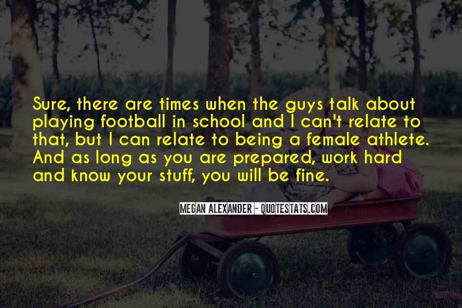 Best Female Athlete Quotes #564089