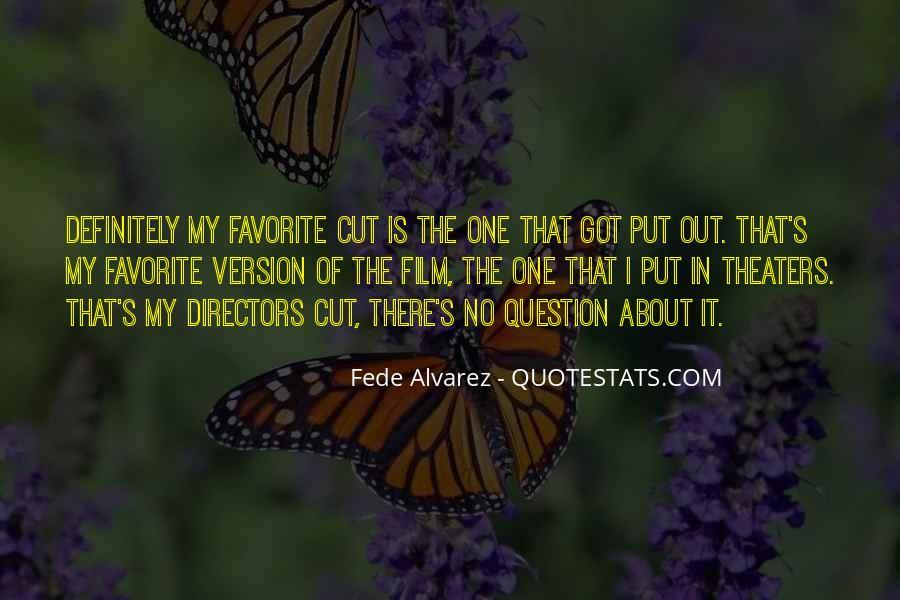 Best Film Directors Quotes #148114
