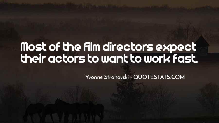 Best Film Directors Quotes #253277