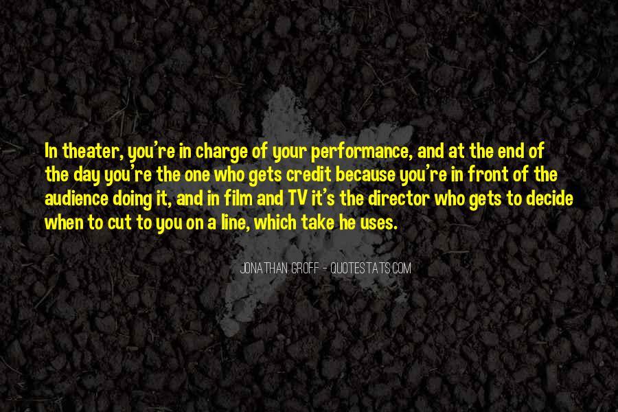 Best Film Directors Quotes #291580
