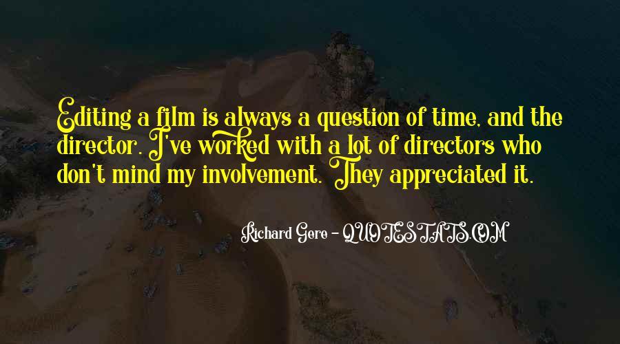 Best Film Directors Quotes #339440