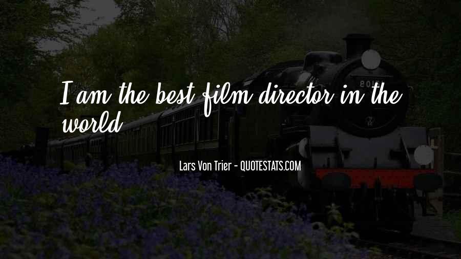 Best Film Directors Quotes #38767