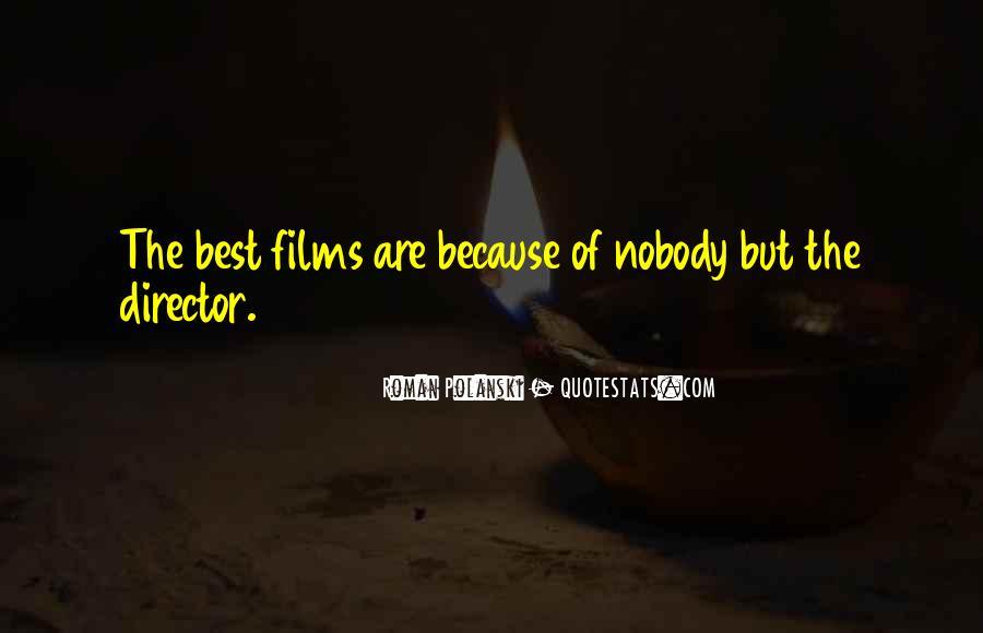 Best Film Directors Quotes #591134