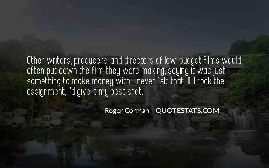 Best Film Directors Quotes #687557