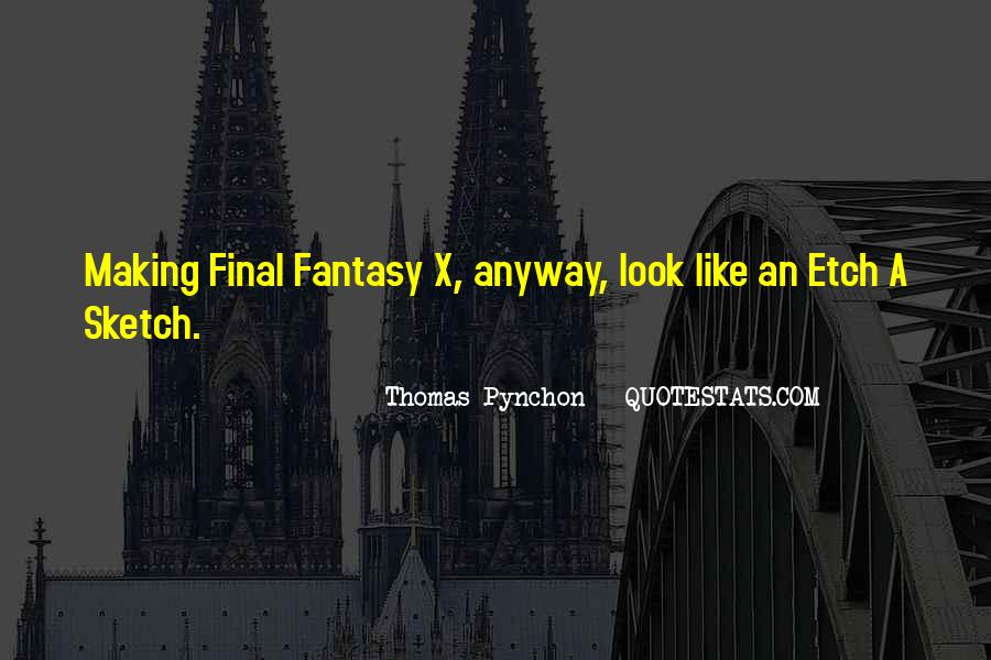 Best Final Fantasy Quotes #1161790
