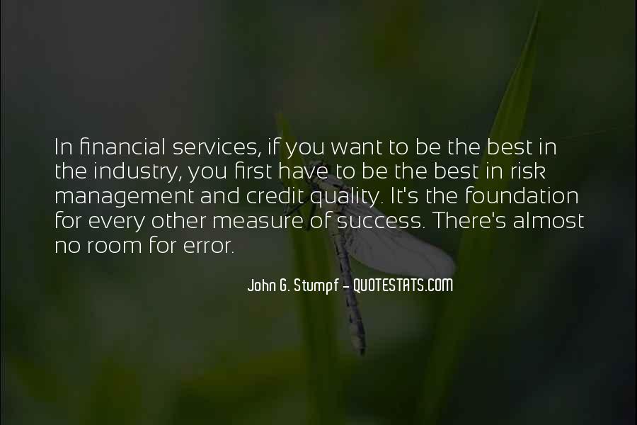 Best Financial Management Quotes #1017583