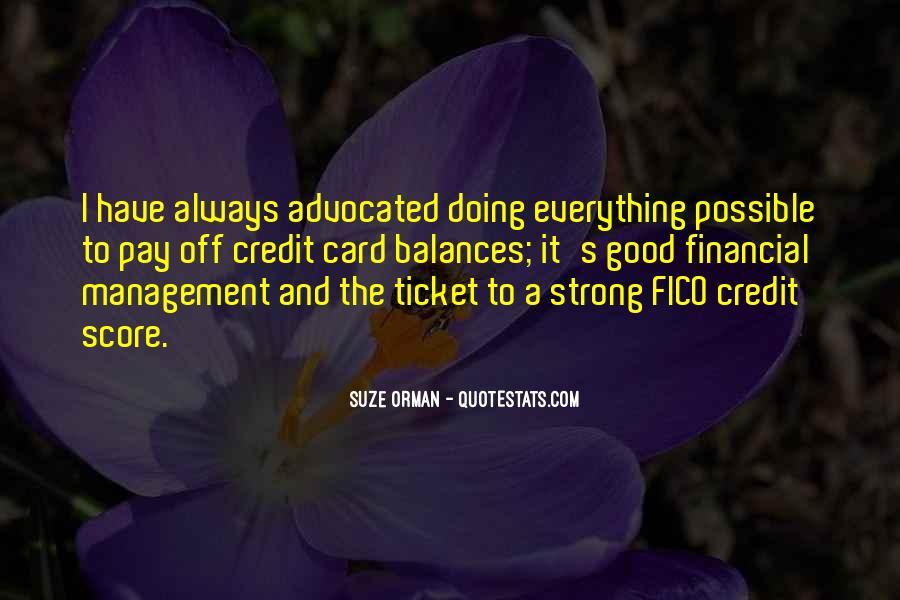 Best Financial Management Quotes #1217718