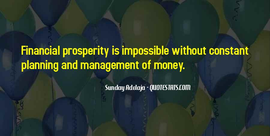 Best Financial Management Quotes #1226970