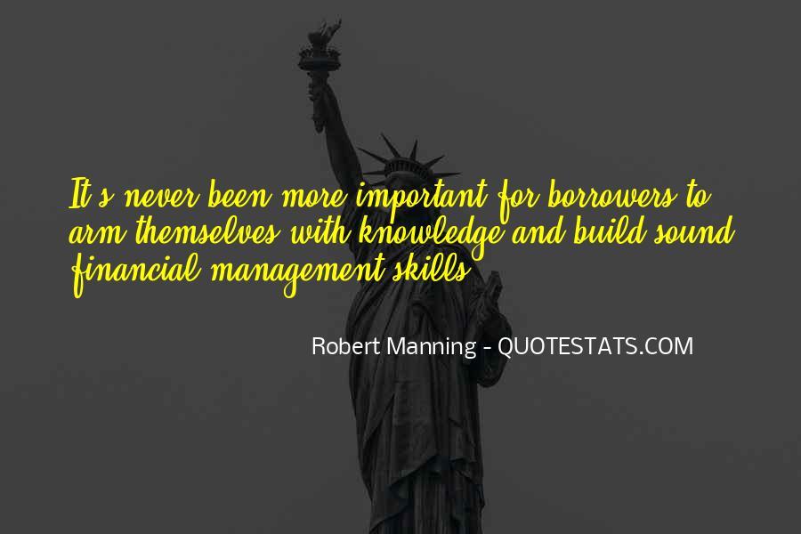Best Financial Management Quotes #1404026