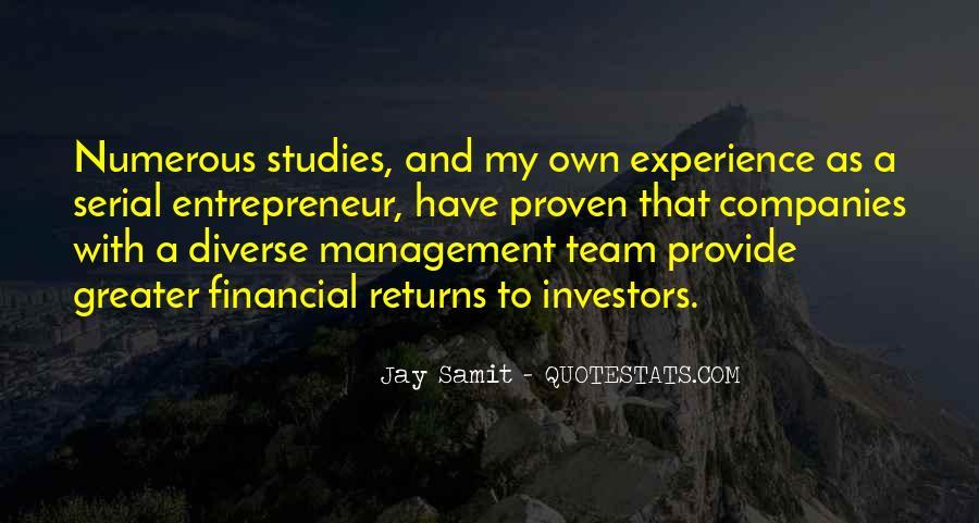 Best Financial Management Quotes #1418336