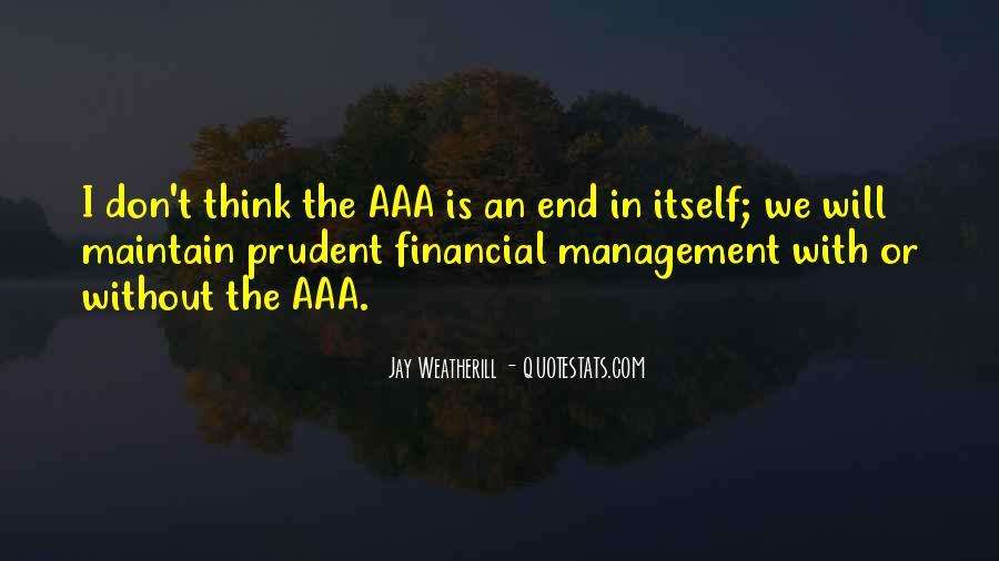 Best Financial Management Quotes #519752