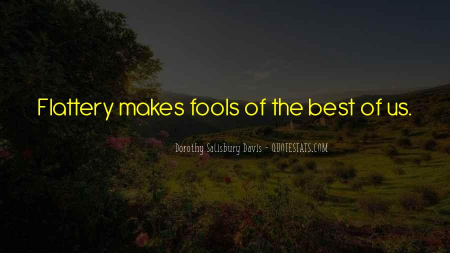 Best Flattery Quotes #1313780