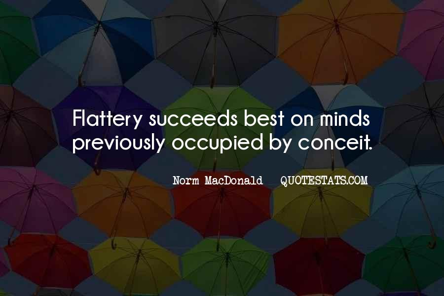 Best Flattery Quotes #1685545