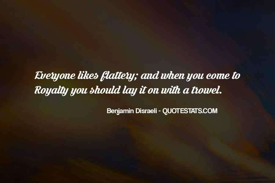 Best Flattery Quotes #34781
