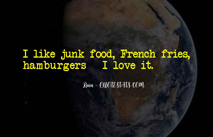 Best Food Love Quotes #30953