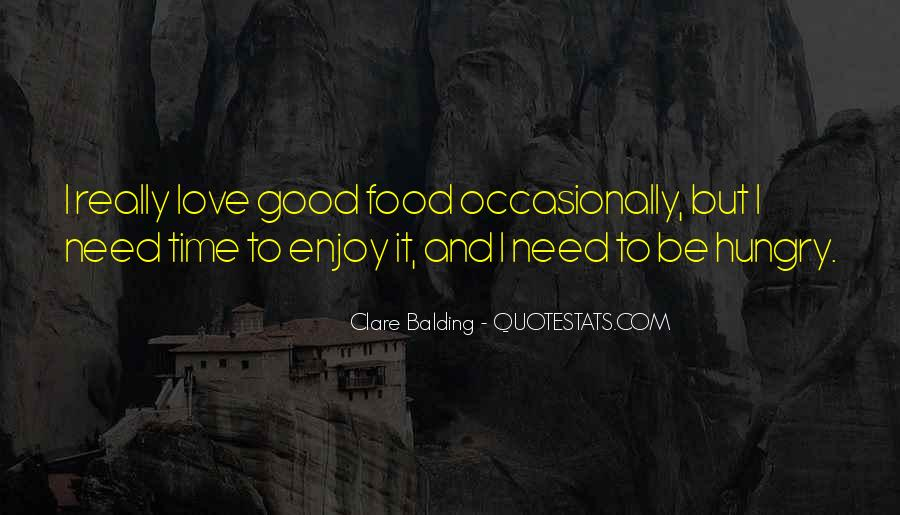 Best Food Love Quotes #46705