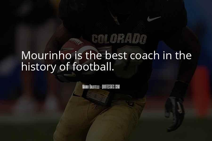 Best Football Coach Quotes #1057586