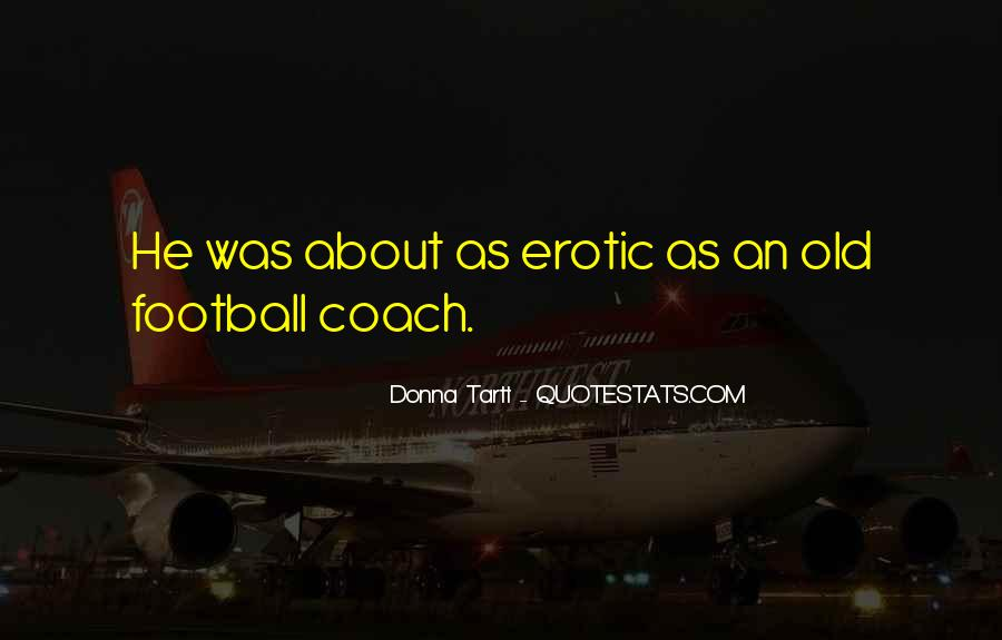 Best Football Coach Quotes #121569