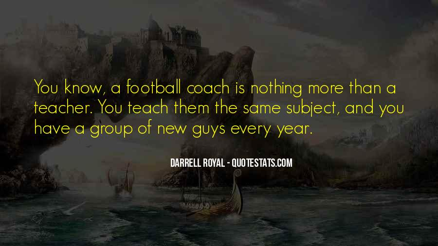 Best Football Coach Quotes #164659