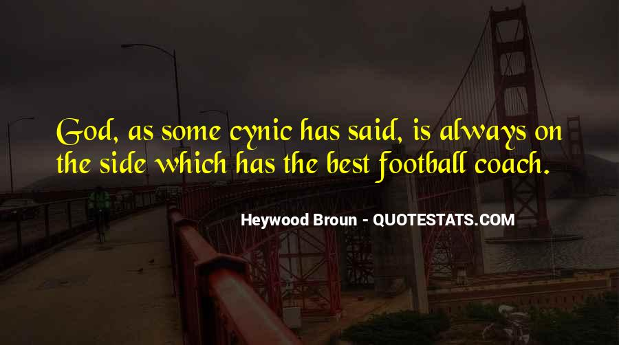 Best Football Coach Quotes #1685411