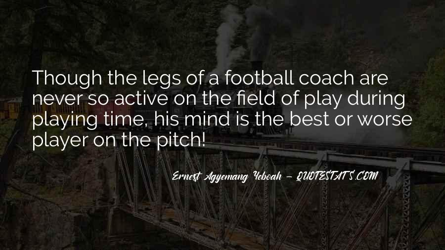 Best Football Coach Quotes #185148