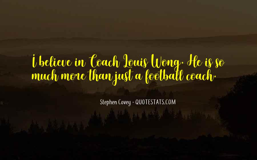 Best Football Coach Quotes #21477