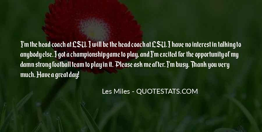 Best Football Coach Quotes #248932