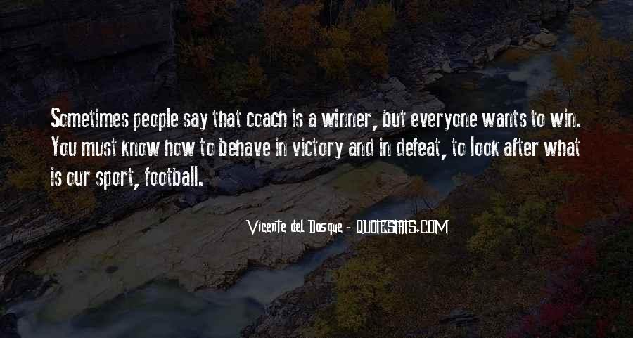 Best Football Coach Quotes #303212