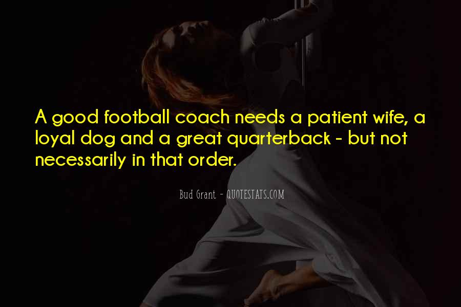 Best Football Coach Quotes #581453