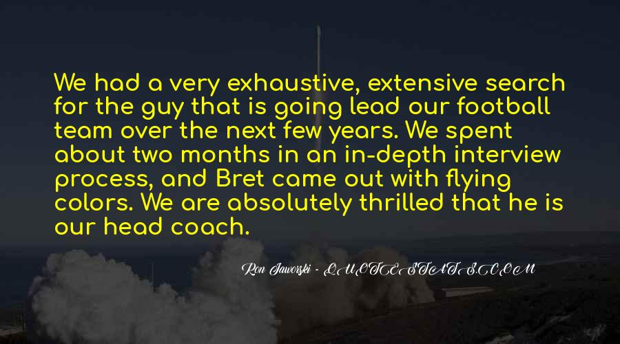 Best Football Coach Quotes #610959