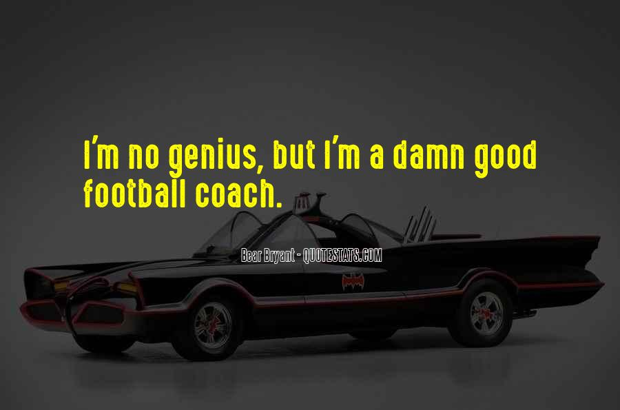 Best Football Coach Quotes #623775
