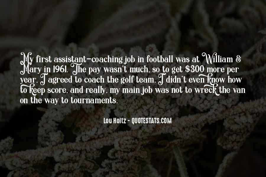 Best Football Coach Quotes #735422