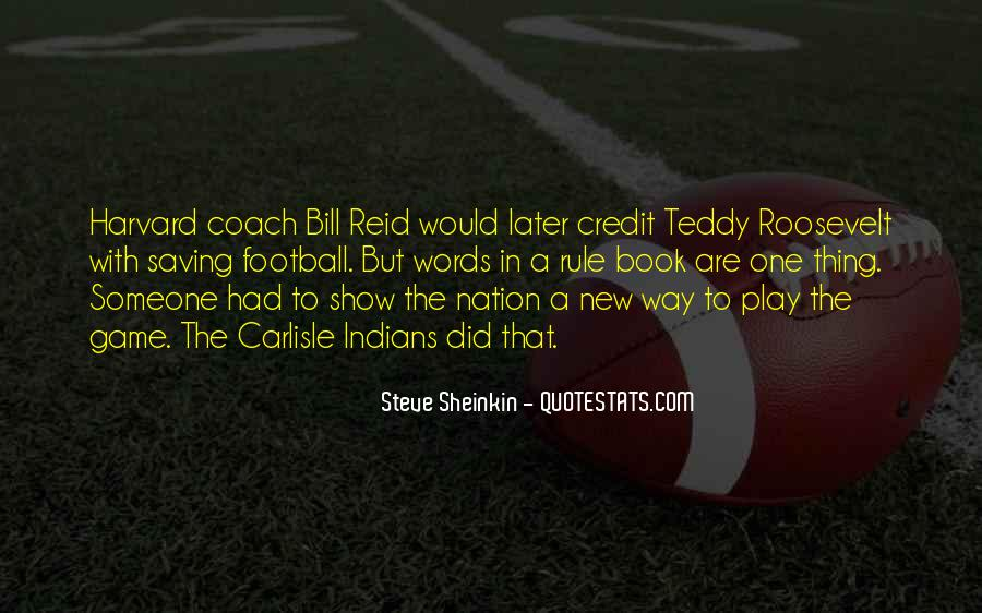 Best Football Coach Quotes #776173