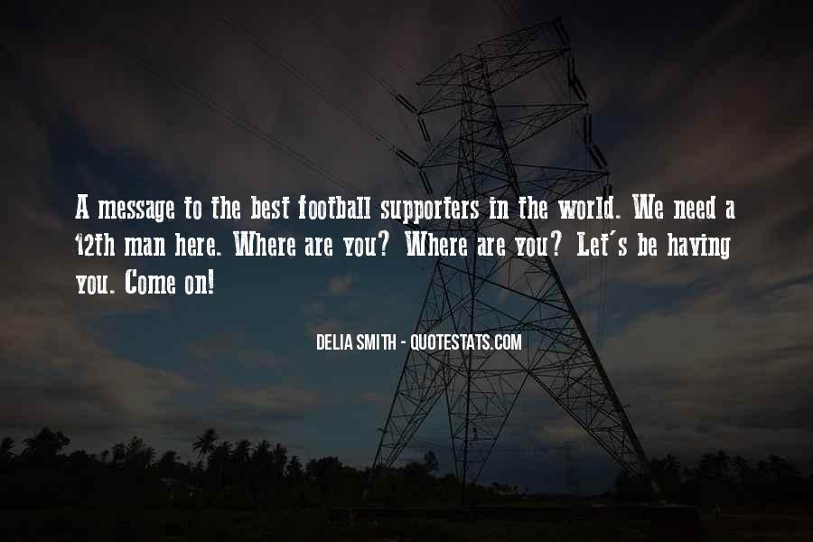 Best Football Quotes #1242781