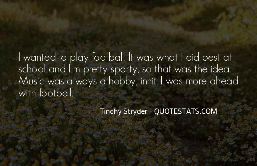 Best Football Quotes #368995