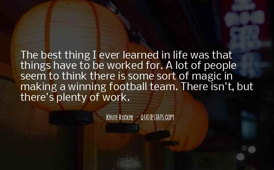 Best Football Quotes #997199