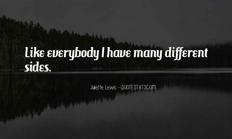 Quotes About Many Sides #1606824