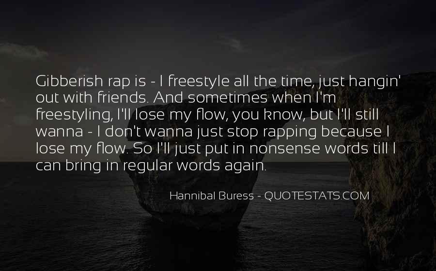 Best Freestyle Rap Quotes #1620557