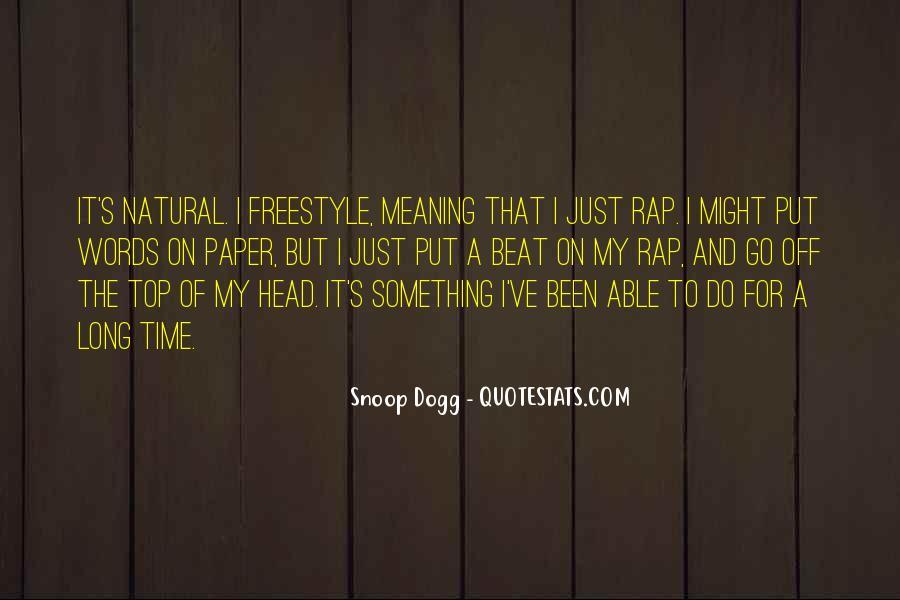 Best Freestyle Rap Quotes #322888