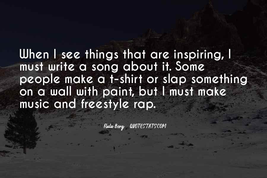 Best Freestyle Rap Quotes #654883