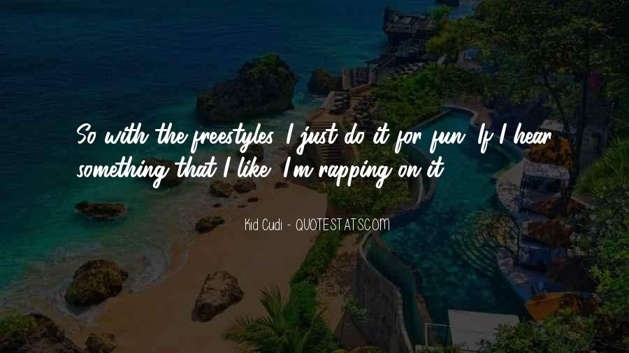 Best Freestyle Rap Quotes #87463