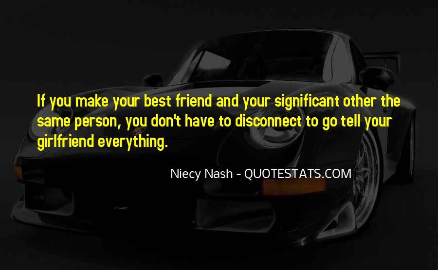 Top 33 Best Friend Girlfriend Quotes: Famous Quotes ...