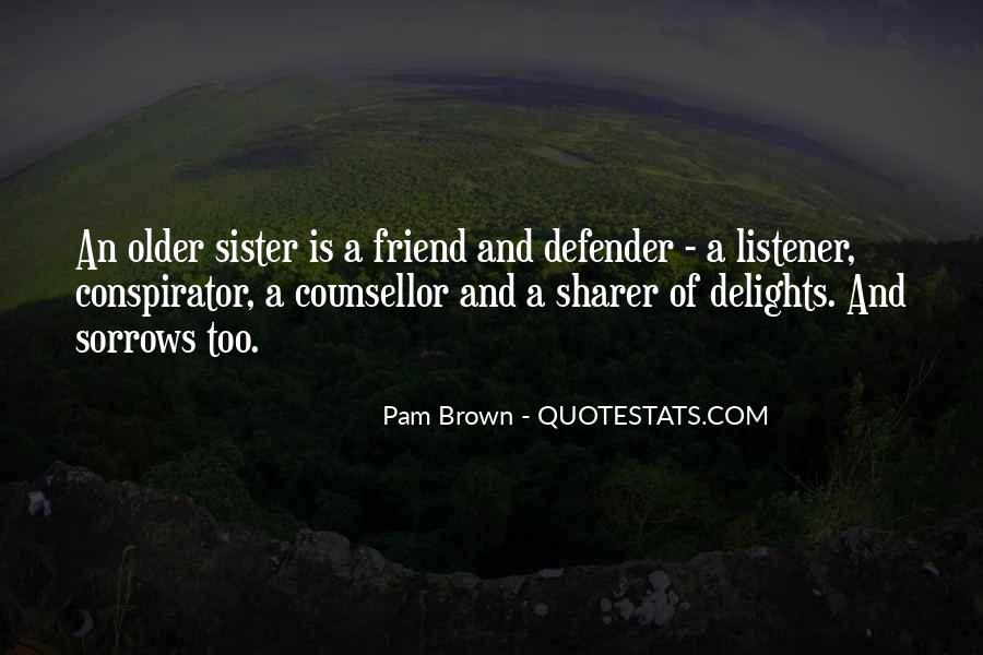 Best Friend Older Sister Quotes #8267