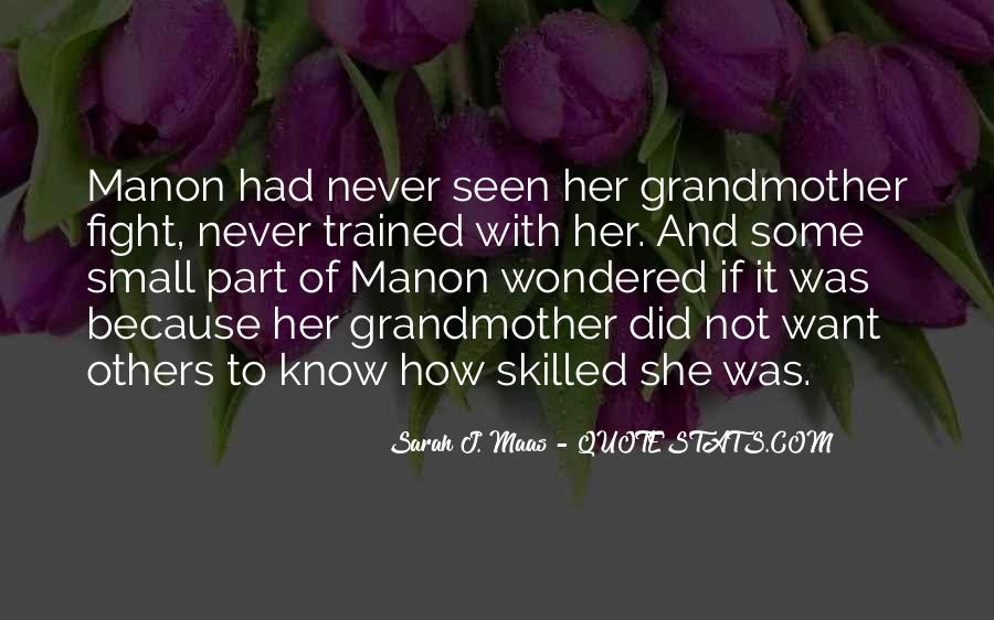 Quotes About Manon #450527