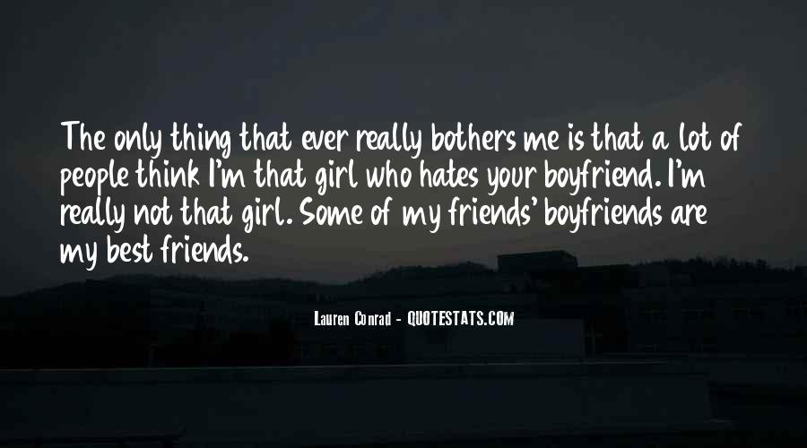 Best Friends And Boyfriends Quotes #277805