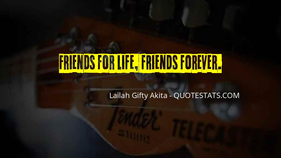 Best Friends Forever For Life Quotes #1234477