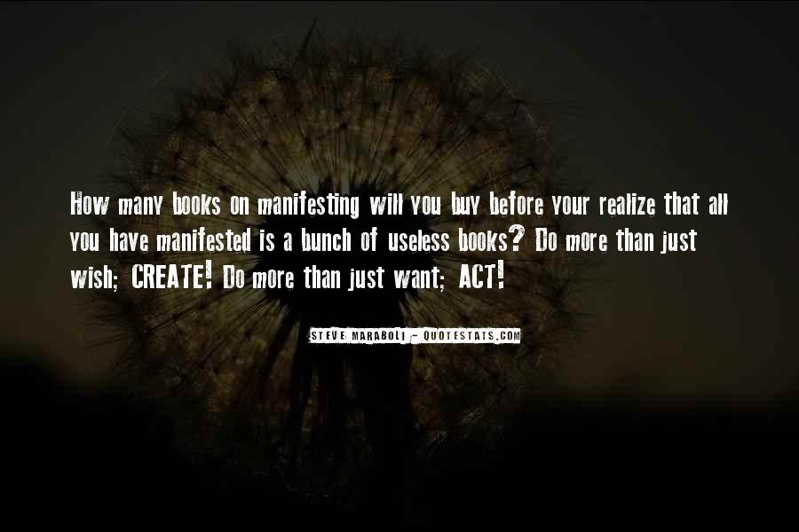 Quotes About Manifested #110166