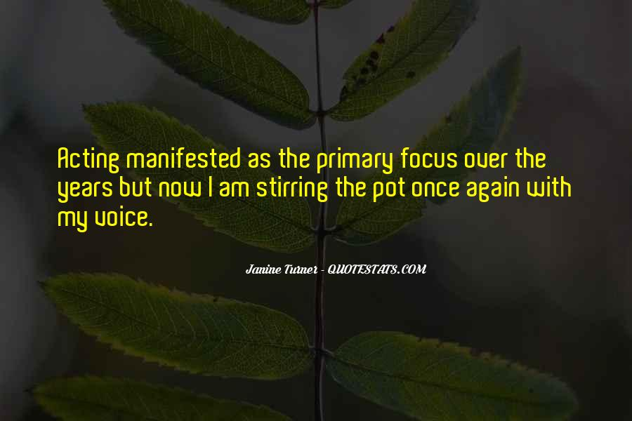 Quotes About Manifested #197527