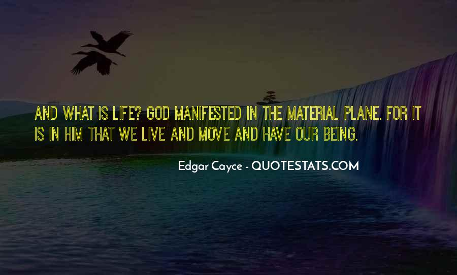 Quotes About Manifested #247605