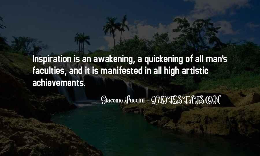 Quotes About Manifested #368680